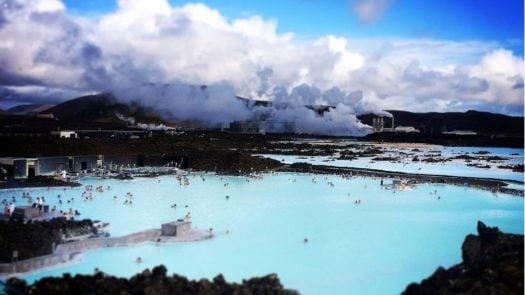 Blue Lagoon geothermal spa, Iceland