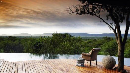 Pool and deck at Molori, Madikwe, South Africa