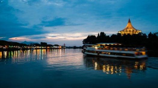 Kuching Waterfront Borneo