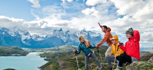 Family Hiking Patagonia