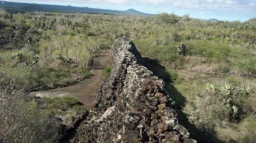 Wall of Tears, the Galapagos Islands