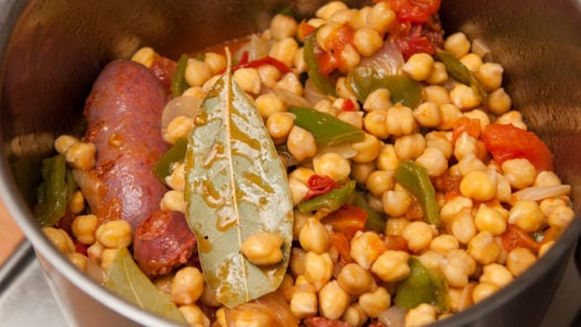 Cocido Madrilena, a classic Spanish dish