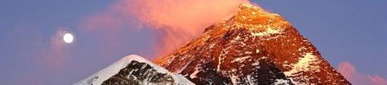Mount Everest Lhotse and Nuptse from Kala Patthar