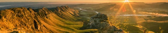 Sunrise at Te Mata Peak, Napier, Hawkes Bay