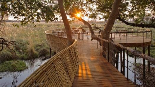 Sandibe Okavango Safari Lodge, Okavango Delta, Botswana, Africa