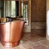 pretty-beach-house-copper-tub