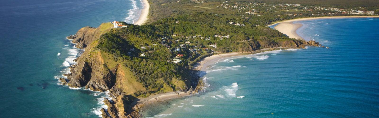 Byron Bay Australia Headland
