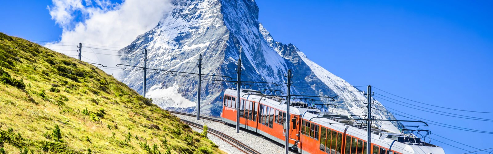 Gornergrat train, Matterhorn, Switzerland