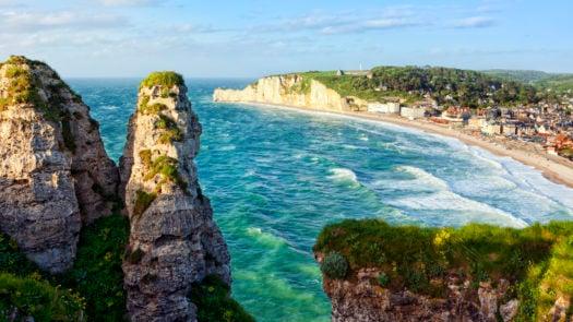 Etretat Normandy France