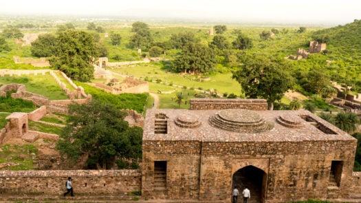 Haunted indian city of Bhangarh