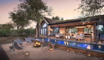 Lion Sands Ivory Lodge, Sabi Sands, South Africa, swimming pool