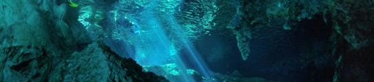 Dos ojos cave, Yucatan peninsula, Mexico