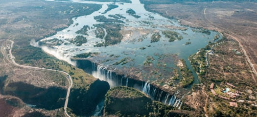 The Zambezi River and Victoria Falls