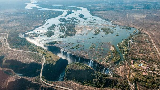 The Zambezi River and Victoria Falls