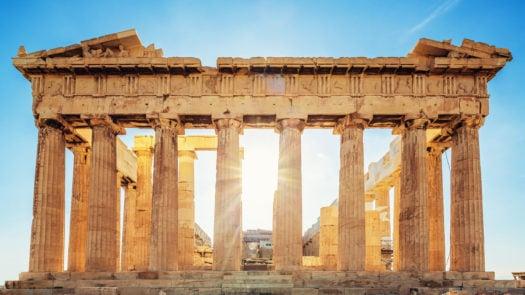 Parthenon Athens Acropolis Greece