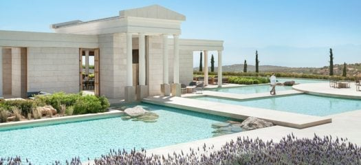 Pool, Amanzoe Hotel, Porto Heli, Greece