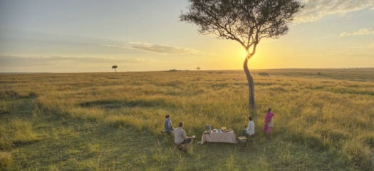 rekero-camp-sunset-dinner