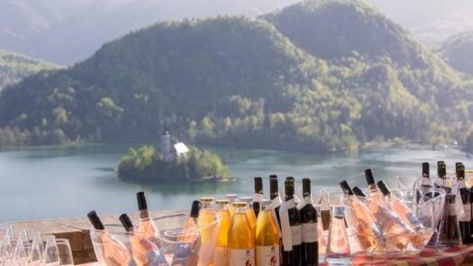 Jezersek, Bled Castle Restaurant, Lake Bled, Slovenia