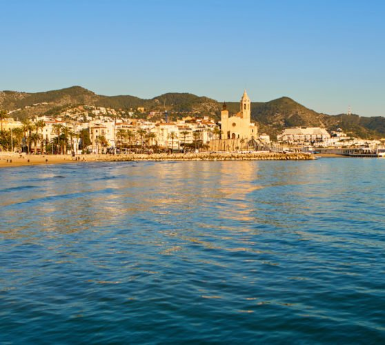 sitges-near-barcelona-evening