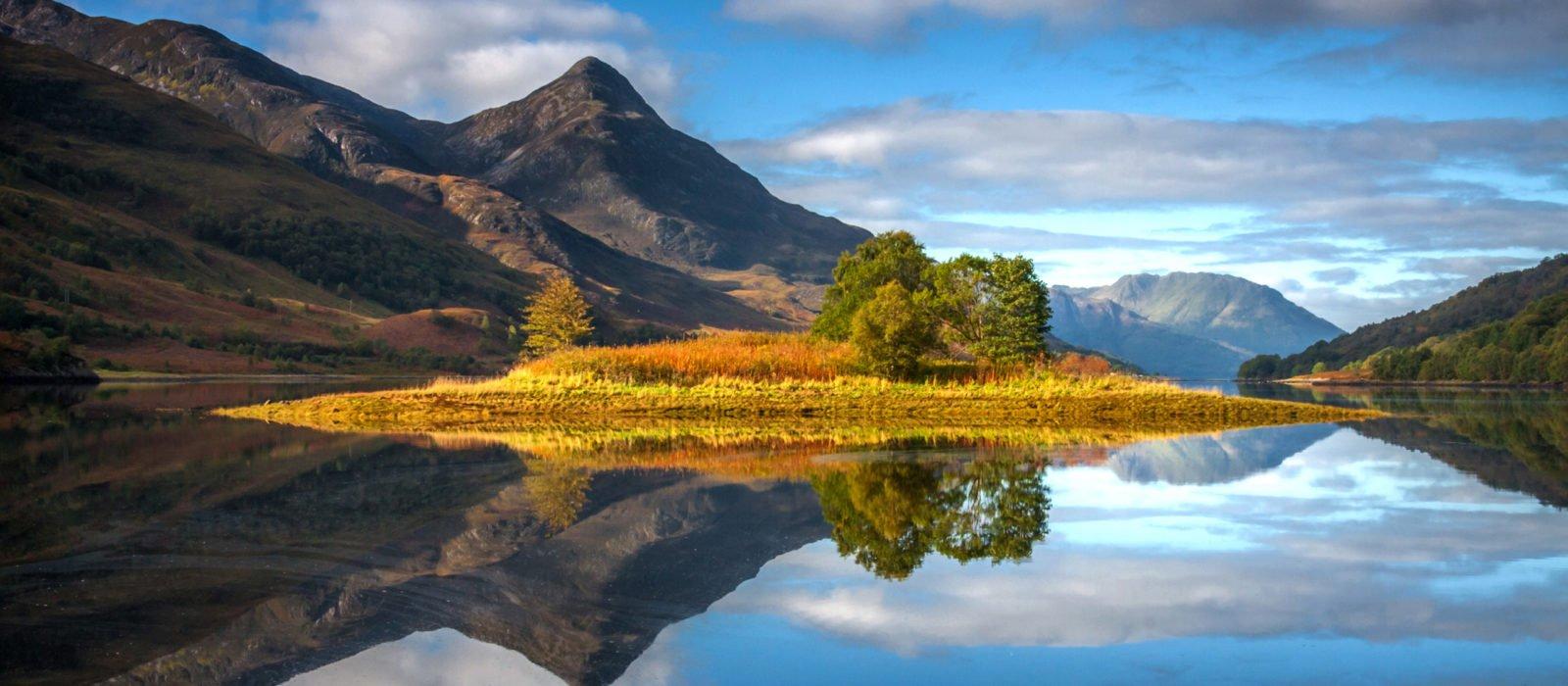 Glencoe Loch Leven Scotland