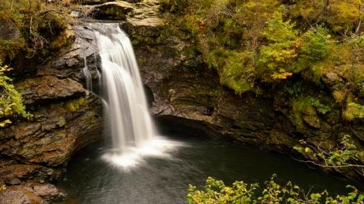 waterfall-trossachs-national-park-scotland