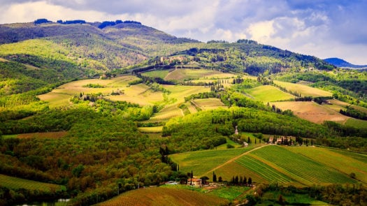 chianti countryside Italy