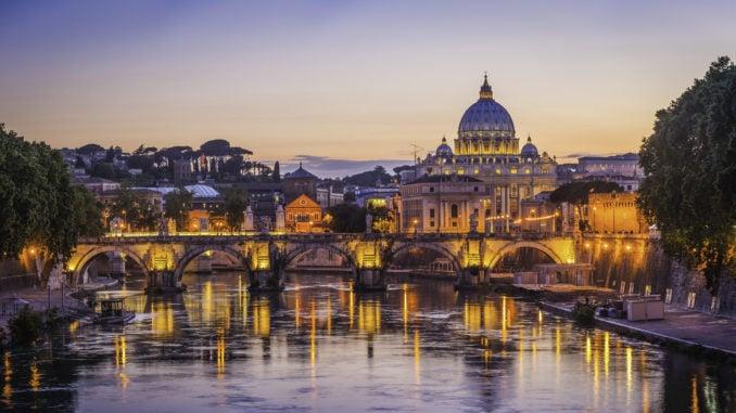 rome-skyline-sunset