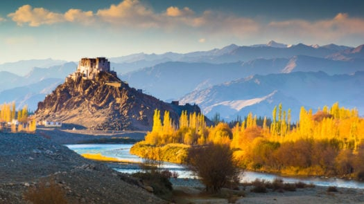 Landscape in Ladakh, Northern India