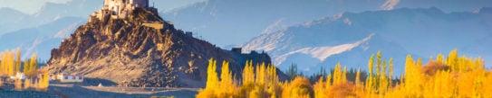 Landscape in Ladakh, Northern India