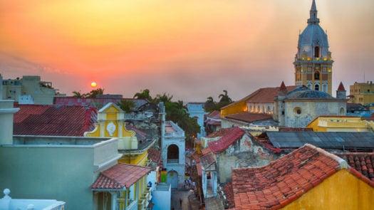 sunset-cartagena-colombia