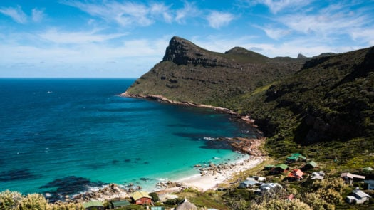 Cape Point shoreline