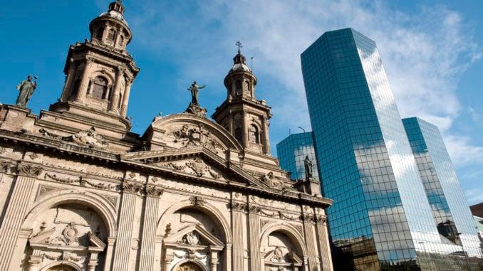Metropolitan Cathedral Santiago Chile