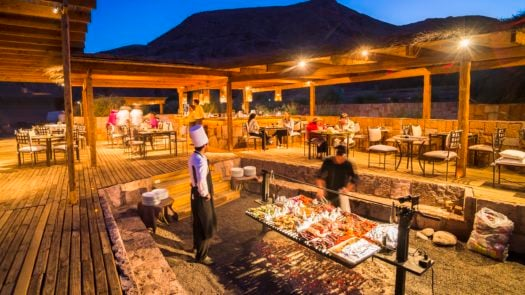 Barbeque (bbq) at Hotel Alto Atacama Desert Lodge and Spa, San Pedro de Atacama, Atacama Desert, Chile