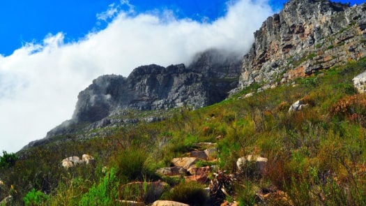 Table Mountain Hiking Trail Cape Town South Africa