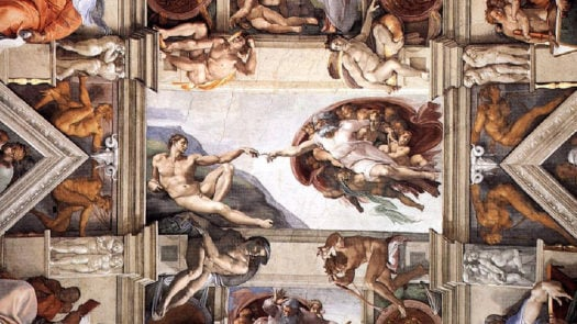 Michelangelo, The Sistine Chapel, Vatican City, Rome, Italy
