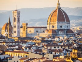 florence-cathedral-skyline-sunset