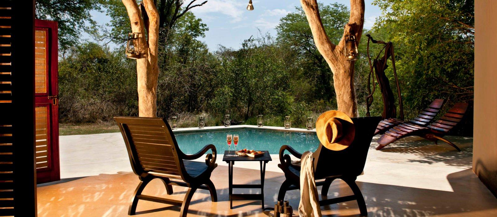 Sabi Sabi Bush Lodge - Mandleve Suite Pool View