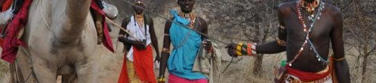 Camel ride, Sasaab, Kenya