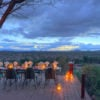 Al fresco dining, Sassab Lodge, Samburu, Kenya