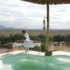 Massage by the pool at Sasaab Lodge, Kenya