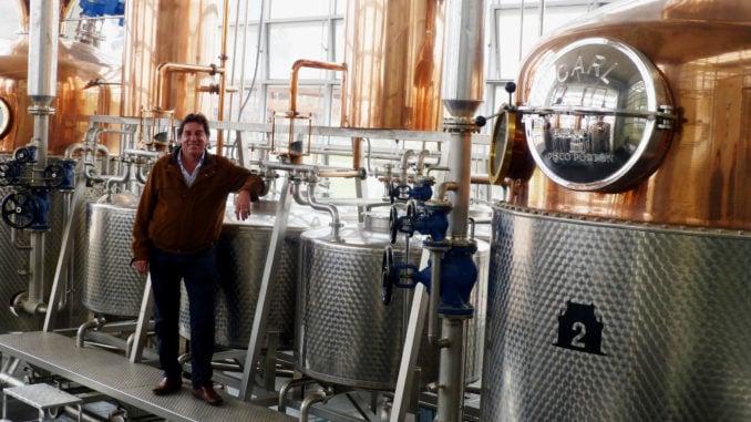 Pisco Porton distillery
