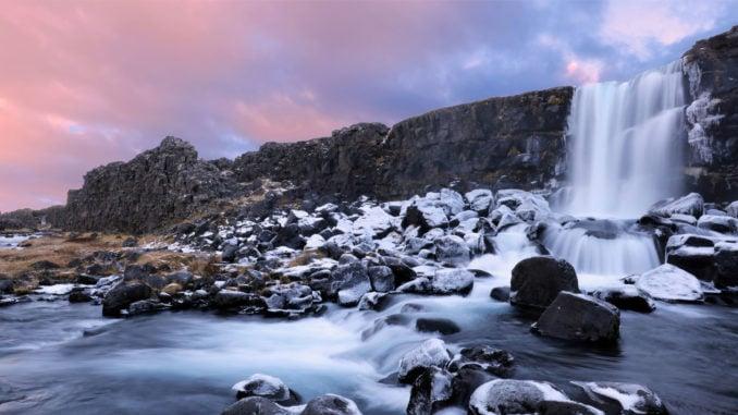 oxararfoss-waterfall-thingvellir-national-park-iceland