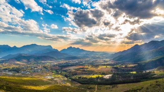 Franschhoek, South African winelands