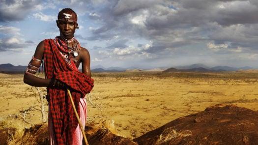 Maasai warrior Kenya