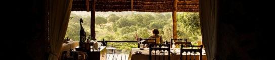 Restaurant, Serian Camp The Nest, Mara Conservancies, Kenya