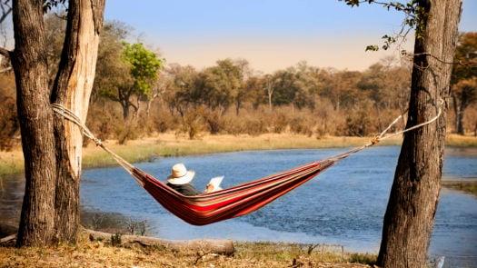 Hammock, Selinda Explorers Camp, Botswana