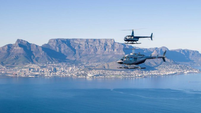 Cape Town Table Mountain Helicopter, South Africa