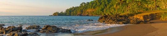 Costa Rica Corcovado Jungle Sunset