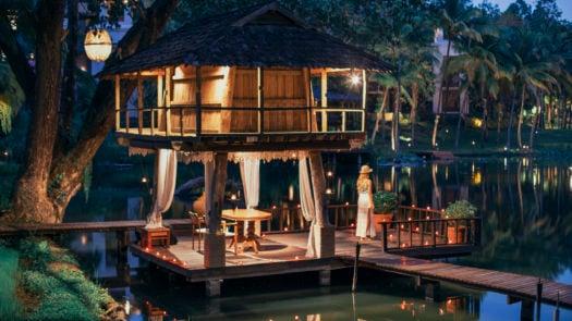 Tree houses, Four Seasons Chiang Mai, Thailand