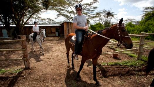 Solio Lodge Horseriding Kenya